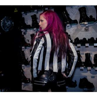 giacca di pelle donna - Beetlejuice - KILLSTAR, KILLSTAR