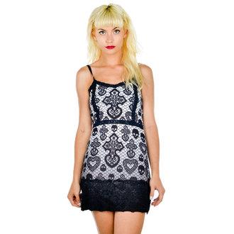 vestito donna TOO FAST - Curse - Skull Lace, TOO FAST