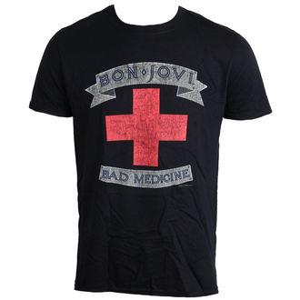 t-shirt metal uomo Bon Jovi - Bad Medicine - LIVE NATION, LIVE NATION, Bon Jovi