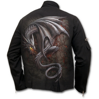 giacca primaverile / autunnale uomo - Obsidian - SPIRAL, SPIRAL