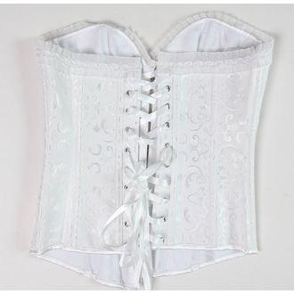 corsetto da donna DRACULA CLOTHG - bianco - DANNEGGIATO, DRACULA CLOTHING