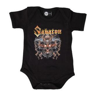 corpo bambino Sabaton - Metalizer - Nero - Metal-Kids, Metal-Kids, Sabaton