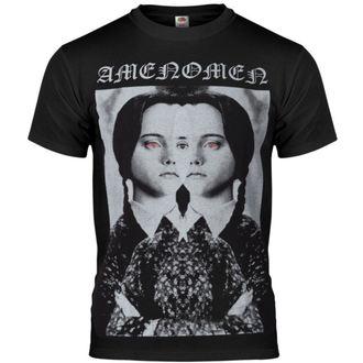 t-shirt uomo AMENOMEN - Evil Girl - NR - KOMEN031
