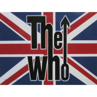 bandiera The Who - UK, HEART ROCK, Who