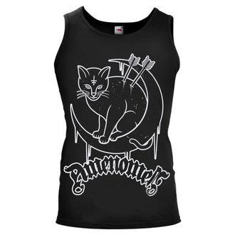 t-shirt uomo AMENOMEN - Mooncat - NR, AMENOMEN