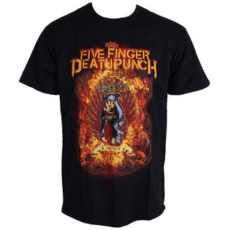 t-shirt metal Five Finger Death Punch - Burn In Sin - ROCK OFF, ROCK OFF, Five Finger Death Punch