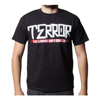 t-shirt metal uomo Terror - Hard Lessons - Buckaneer