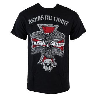 t-shirt metal uomo Agnostic Front - Les Crew - RAGEWEAR, RAGEWEAR, Agnostic Front