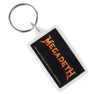 portachiavi (ciondolo) Megadeth - Logo, C&D VISIONARY, Megadeth