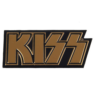 adesivo piccolo (metallo) Kiss - Logo, C&D VISIONARY, Kiss