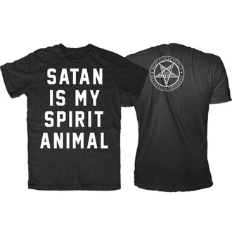 t-shirt uomo - Satan Is My Spirit Animal - BLACK CRAFT, BLACK CRAFT
