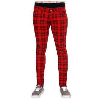 pantaloni uomo 3RDAND56th - Verificato - Nero/Rosso, 3RDAND56th