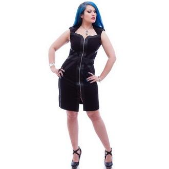 vestito donna NECESSARY EVIL - Gothic Luna - Nero, NECESSARY EVIL