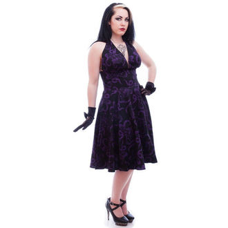 vestito donna NECESSARY EVIL - Feronia 50s - Nero, NECESSARY EVIL