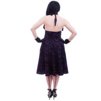 vestito donna NECESSARY EVIL - Feronia 50s - Nero, NECESSARY EVIL