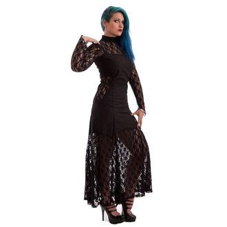 vestito donna NECESSARY EVIL -Nefetari Twill - Nero, NECESSARY EVIL