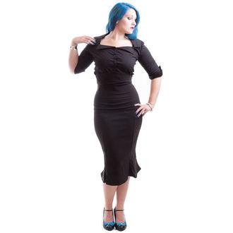 camicia donna NECESSARY EVIL - Belisama Popeline - Nero, NECESSARY EVIL
