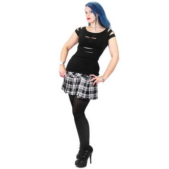 T-shirt gotica e punk donna - Erinys Slashed - NECESSARY EVIL