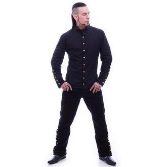 camicia uomo NECESSARY EVIL - Chronus - Nero, NECESSARY EVIL