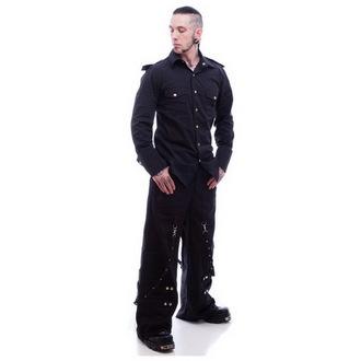 camicia uomo NECESSARY EVIL - Slaine - Nero, NECESSARY EVIL