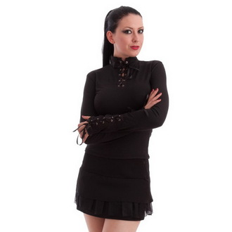 T-shirt gotica e punk donna - Black - MILISHA, MILISHA