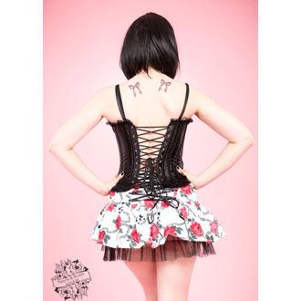corsetto donna HEARTS E ROSES - Nero, HEARTS AND ROSES