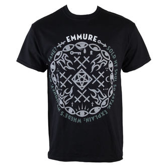 t-shirt metal uomo Emmure - Money Power Fame - VICTORY RECORDS, VICTORY RECORDS, Emmure