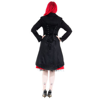 cappotto donna primaverile-autunnale HEARTS E ROSES - Nero Sassiness, HEARTS AND ROSES