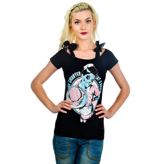 T-shirt gotica e punk donna - Annabel Bow - TOO FAST, TOO FAST