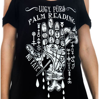 T-shirt gotica e punk donna - Lucy Furs Palm Read - TOO FAST, TOO FAST