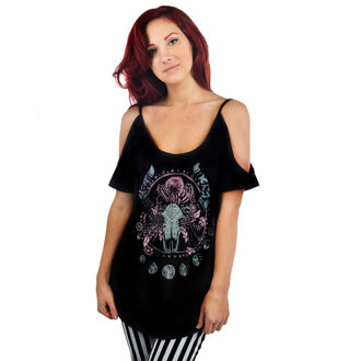 T-shirt gotica e punk donna - Cosmic Cow - TOO FAST, TOO FAST