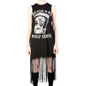vestito donna DISTURBIA - Spirit Animal - Nero, DISTURBIA