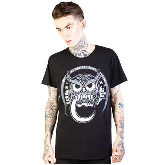 t-shirt hardcore uomo - Owl - DISTURBIA, DISTURBIA