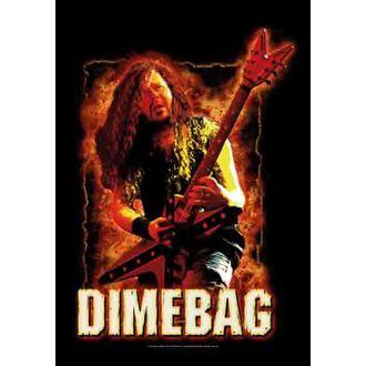 bandiera Dimebag Darrel - Fire, HEART ROCK, Dimebag Darrell