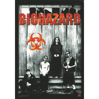 bandiera Biohazard - Band, HEART ROCK, Biohazard