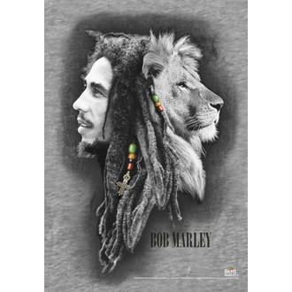 bandiera Bob Marley - Profili, HEART ROCK, Bob Marley