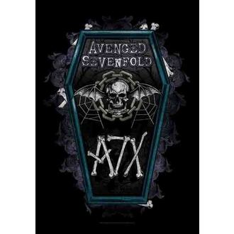 bandiera Avenged Sevenfold - Coffin, HEART ROCK, Avenged Sevenfold