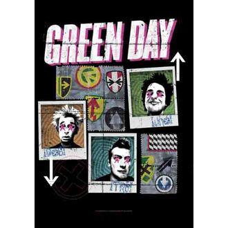 bandiera Green Day - Uno-Dos-Tre - HFL1129