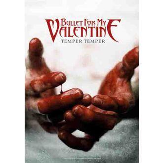 bandiera Bullet For My Valentine - Temper Temper, HEART ROCK, Bullet For my Valentine