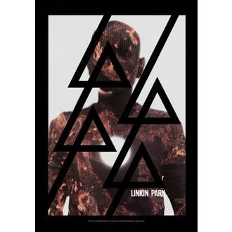 bandiera Linkin Park - Living - Burn It, HEART ROCK, Linkin Park