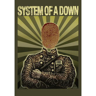 bandiera System Of A Down - Soldier, HEART ROCK, System of a Down