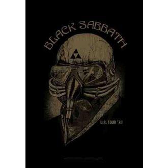 bandiera Black Sabbath - US Tour 78, HEART ROCK, Black Sabbath