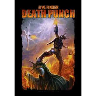 bandiera Five Ofto Death Punch - Battle Of The Ofo, HEART ROCK, Five Finger Death Punch
