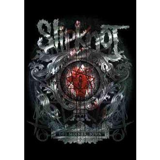 bandiera Slipknot - Des Moines, HEART ROCK, Slipknot