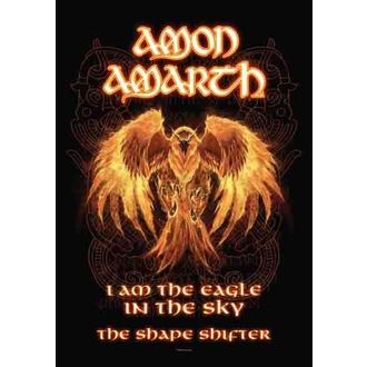 bandiera Amon Amarth - Burning Eagle, HEART ROCK, Amon Amarth