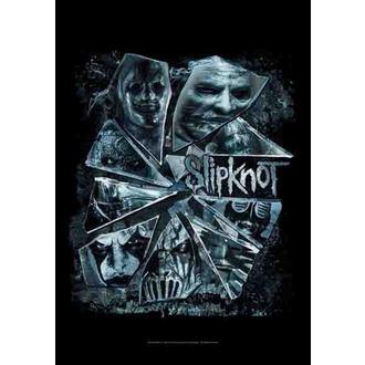 bandiera Slipknot - Broken Glass, HEART ROCK, Slipknot