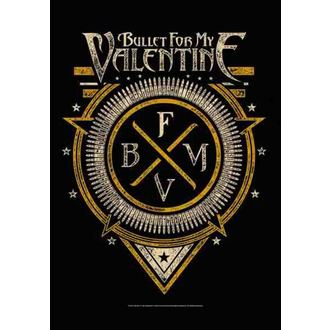 bandiera Bullet For My Valentine - Emblema, HEART ROCK, Bullet For my Valentine