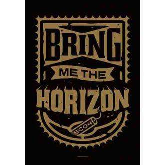 bandiera Bring Me The Horizon - Dinamite Shield, HEART ROCK, Bring Me The Horizon