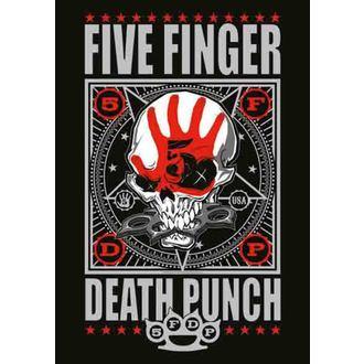 bandiera Five Finger Death Punch - Punchagram, HEART ROCK, Five Finger Death Punch