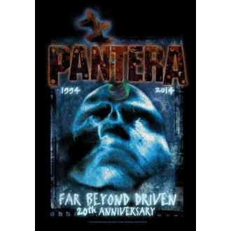 bandiera Pantera - Lontano Al di là di 20th Anniversary, HEART ROCK, Pantera